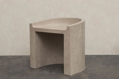 "leibal: ""Atlas is a minimalist collection of limited edition furniture pieces created in collaboration between Valeriane Lazard and Paul Brissonnet. Graduated from the Design Academy Eindhoven under the guidance of Ilse Crawford and Formafantasma,..."