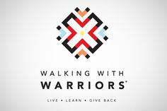 Walking With Warriors / Branding #mark #branding #africa #charity #logo