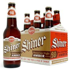 Shiner Bavarian Amber Packaging #packaging #beer #label #bottle