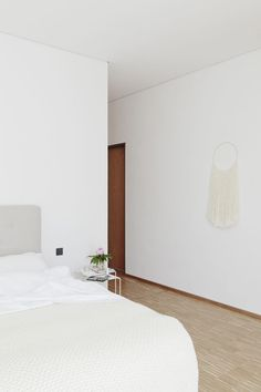 Bedroom. House C.A.L. by Studio Oink. #minimal #bedroom