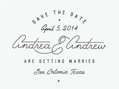 Savethedates #invitation