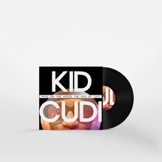Man On The Moon by Kid Cudi  Album Cover Redesign by Matt Hodin www.Behance.net/MattHodin