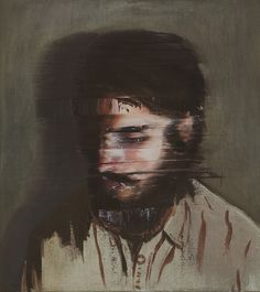 Glitch Portraits Paintings by Andy Denzler