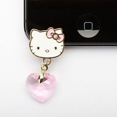 Hello Kitty iPhone 5 Jack Charm #tech #flow #gadget #gift #ideas #cool