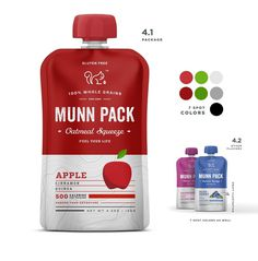 Munn-packs #flavours #munn #branding #packaging #squeeze #pack