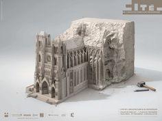 CJWHO ™ (Print Cité de l'Architecture by Illusion Havas...) #illusion #print #design #advertising #illustration #architecture #art