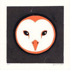 Sunday, 23 October 2011 #print #owl
