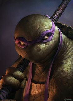 Donatello #illustration #digital illustration #tmnt #donatello