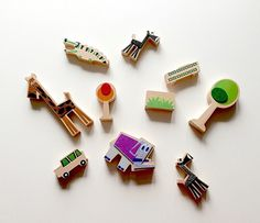 Wanderlust Play Sets on Behance #toys #once #sets #wood #play #kids #safir #cool