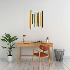 Custom Soundwave Wooden Wall Art image 0