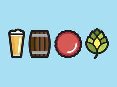 Beer Icons #beer #icons