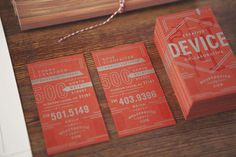Device_Stationery_02 #printed #stationary #business #cards #collateral #paper