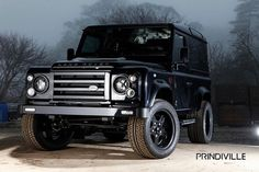 Prindiville smooths out the Land Rover Defender's rough edges - Autoblog