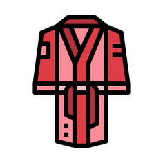 See more icon inspiration related to robe, sports and competition, boxing, clothing, uniform, fashion and clothes on Flaticon.