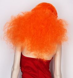 orange #hair #orange #red #human