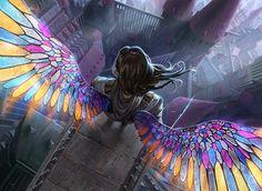 MtG: Gift of Orzhova by algenpfleger on deviantART #wings