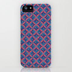 Kawung Flowers iPhone & iPod Case #kawung #pattern #batik