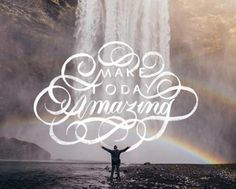 🌈 Make Today Amazing 🌈 - 📷by @erondu / @unsplash - #goodtype #calligraphy #lettering #handlettering #thedailytype #inspiration #typ