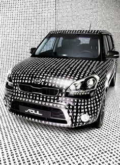 KIA Art Car on Behance