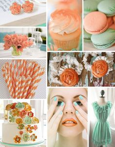 tangerine_seafoam #colors #photograph #party