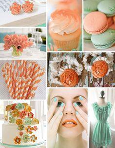tangerine_seafoam #colors #photograph #party