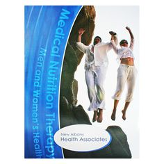 New Albany Health Medical Presentation Folder #blue #health #folder #green
