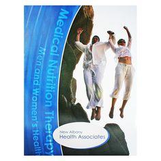 New Albany Health Medical Presentation Folder #blue #health #folder #green