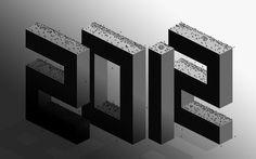 Bye World #2012 #type #typography