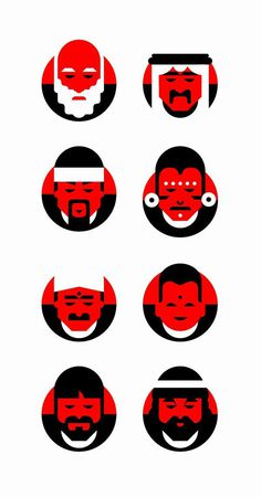 Coca-Cola Zero — Zerolistillos on Behance #face #design #character #illustration