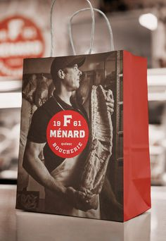 "lg2boutique  |  http://lg2boutique.com/en""The new identity of F. MÉNARD, a family business involved in the pork production trade, draw #logo #design #branding"
