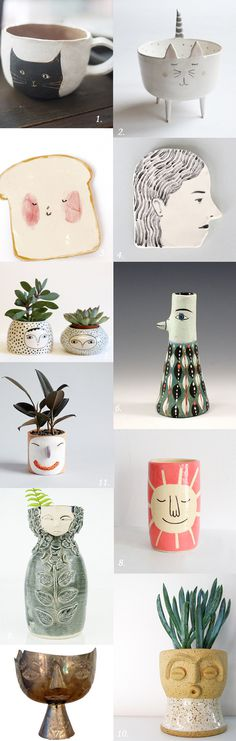vessels with personality