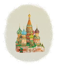 St Basil's Cathedral - Dayonite