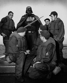 Super Hero | Fubiz™ #darth #wwii #vader