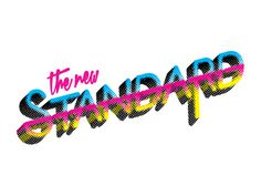 Th New Standard #cmyk #logo #chris #baker