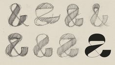 Klim - Maelstrom ampersand sketch