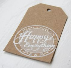 Sugar Paper holiday wrapping set | goop.com #stamp