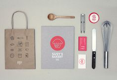 Susy's Bakery on Behance by Para Todo Hay Fans #bakery #branding
