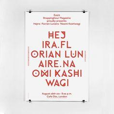 Portfolio : T W O #think #observe #typography #two #italy #work