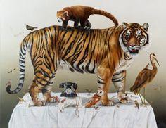 Animal Kingdom by Kate Bergin #arts #illustrations #inspirations