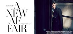 FORMAL IS A NEW AFFAIR Photographed by Beau Grealy Man Of The World Magazine #cover #fashion #man #editorial #magazine