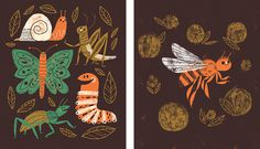 Gone Buggy Cards - Lydia Nichols #bugs