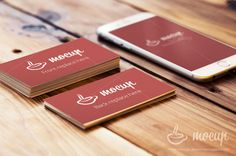Free Business Card and iPhone Mockups
