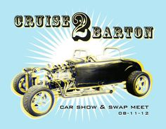 RAWZ #halftone #rockabilly #hotrod #retro #show #car