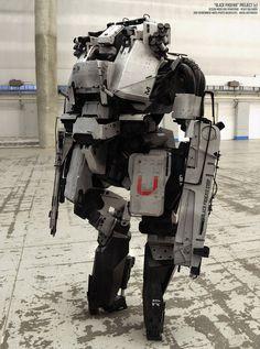 concept robots: Concept robots by Vitaly Bulgarov #mill-tech #mecha