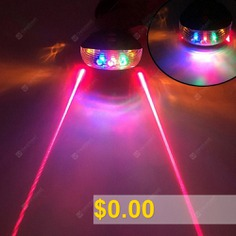 Bicycle #Mountain #Bike #Dead #Speed #Bike #Bicycle #Laser #Taillight #Starry #Taillight #Safety #Warning #Light #Equipment #Accessories #- #COLOR #PARALLEL #LINES