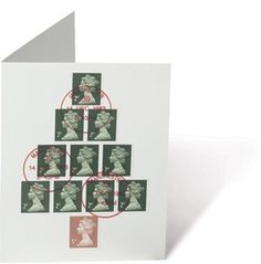 The Chase #card #stamps #design #graphic #the #cover #christmas #chase