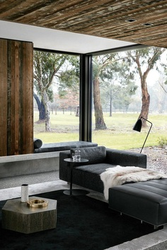 Modern Rural Retreat Featuring a Robust, Functional and Minimalistic Design 4