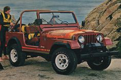 Russet 1979 AMC Jeep CJ-7 Renegade #renegade #jeep #cj