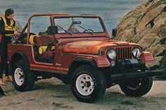 Russet 1979 AMC Jeep CJ-7 Renegade