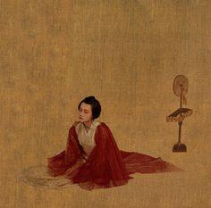 Tangwan Gao yunpeng's Portfolio #print #illustration #china #geisha #traditional